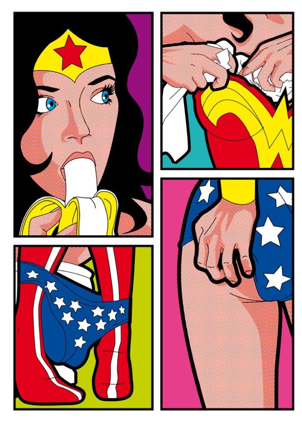 Grégoire Leon Guillemin_Wonder Woman