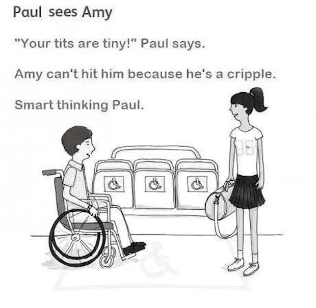 Paul sees Amy